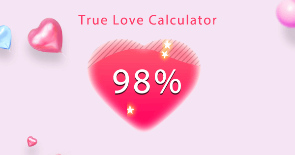 who loves me calculator