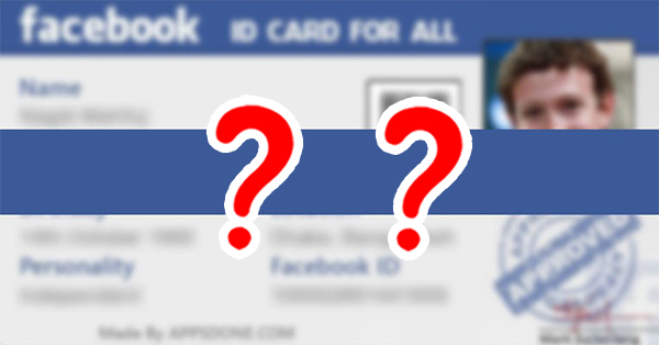 What Does Your Facebook ID Card Look Like?